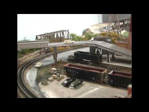 Model Railroad: Big Industry, Small Space. COKE WORKS LAYOUT