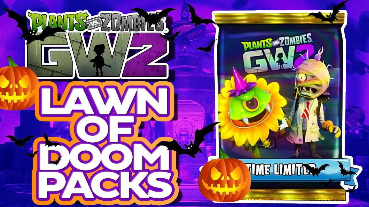 LAWN OF DOOM PACKS COST HOW MUCH Plants Vs Zombies Garden