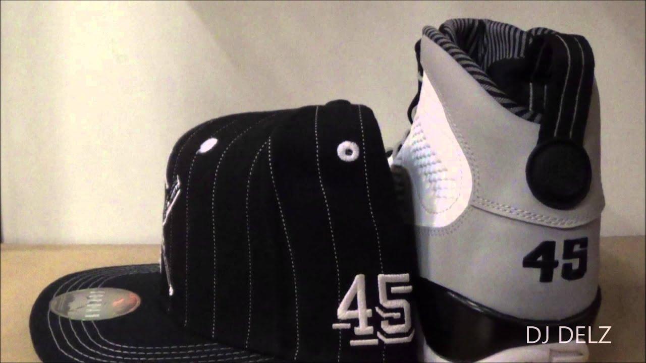 3731e68b386 Air Jordan Birmingham Barons 9 Sneaker With Snapback #HotOrNot With @DjDelz