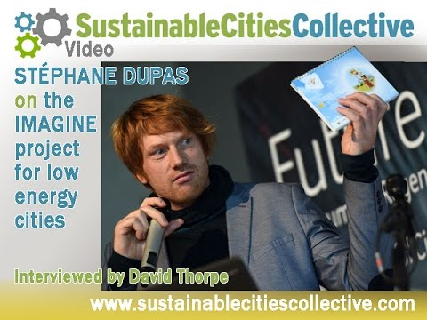 Stéphane Dupas on the IMAGINE European Energy Cities Project
