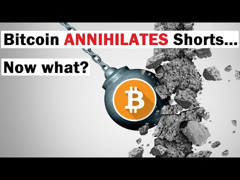 Bitcoin ANNIHILATES Short Sellers... Now What?
