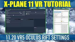 X Plane 11 Native VR 11.20 VR5 & VR6 Best Settings For Oculus Rift