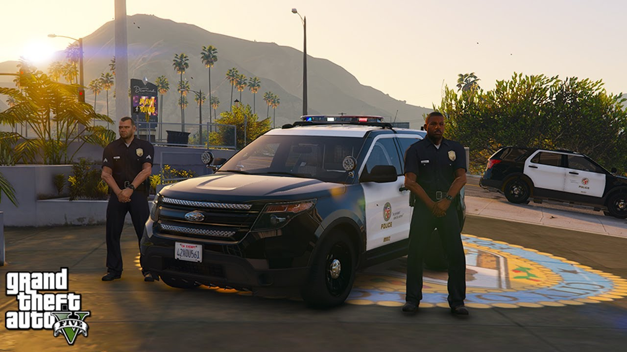 LAPD Hollywood Patrol (GTA 5 LSPDFR Mod #296)