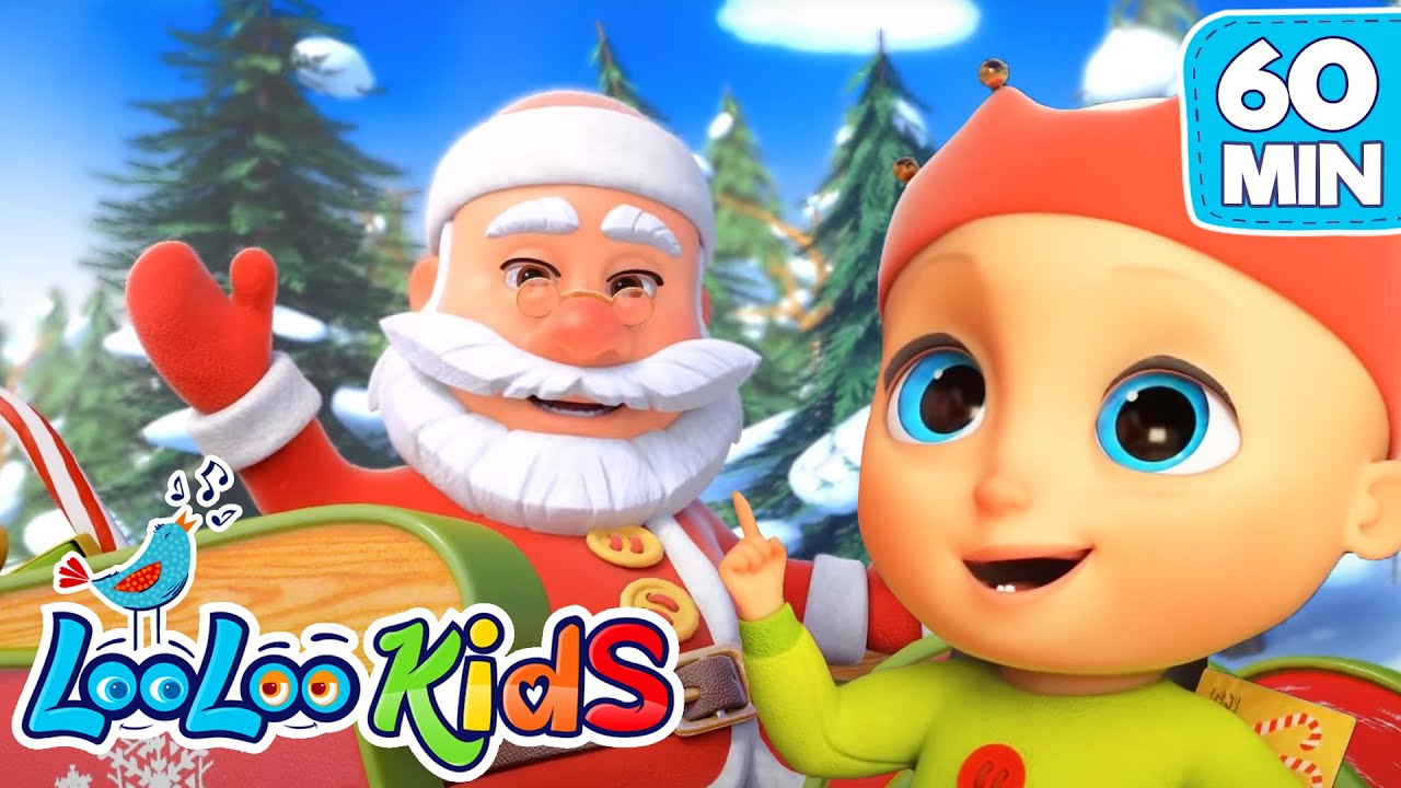 Christmas Songs For KIDS | Deck the HALLS | LooLoo KIDS Nursery Rhymes and Baby Songs