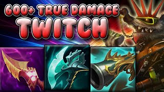 WTF? SEASON 11 AP TWITCH MID IS DOING 600+ TRUE DAMAGE A SECOND?? - League Of Legends