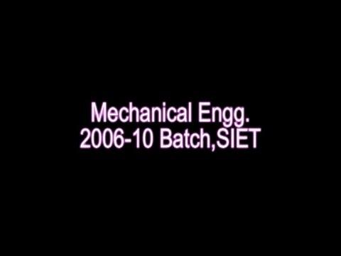 Mechanical Engineering 2006 10 SHAMBHUNATH INSTITUTE OF ENGINEERING AND TECHNOLOGY, Allahabad By Paw