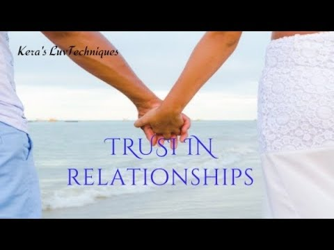 How To Tell Your Partner Trusts You: Relationship Advice