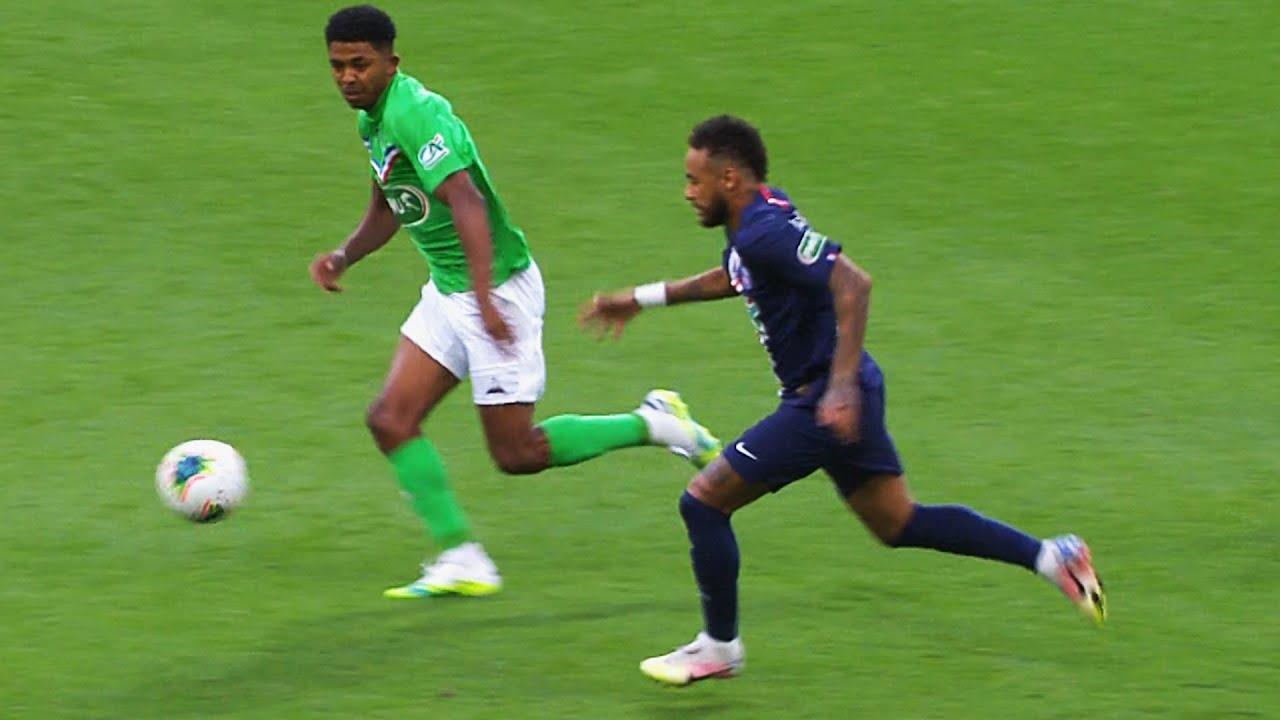 Neymar Winning Coupe De France for PSG!