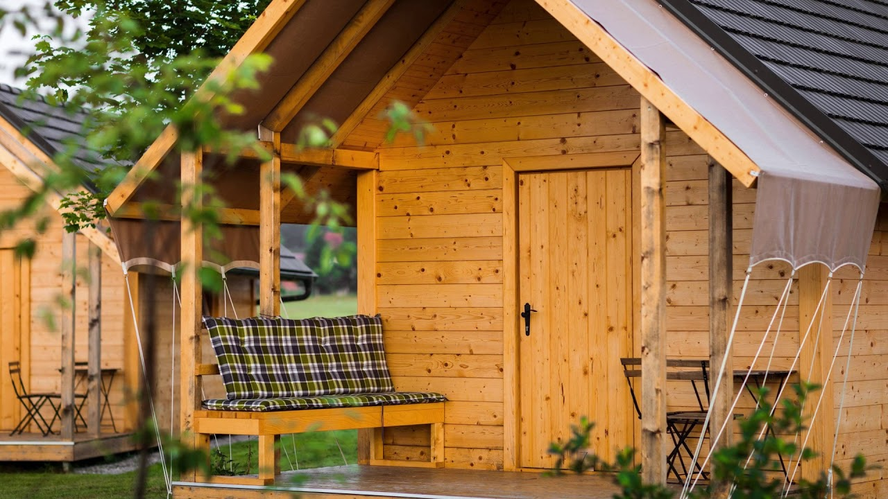 Green accommodation: glamping Kolpa Resort