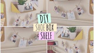 DIY Shoe Box Shelf ♡