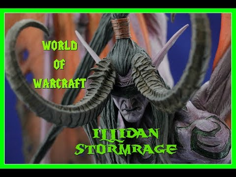 Illidan Stormrage Statue Unboxing | World Of Warcraft | Blizzard | Guru Reviews