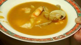 Receta de sopa de pescado, ideal para combatir el frío