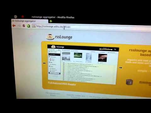 A quick glance at RSSLounge