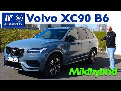 2020 Volvo XC90 B6 Mild-Hybrid AWD R-Design - Kaufberatung, Test deutsch, Review, Fahrbericht