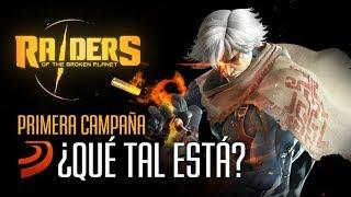 ¿Qué tal está Raiders of the Broken Planet? Gameplay Comentado