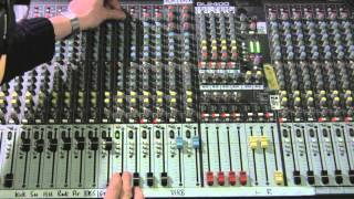 ANALOUGE MIXING DESK - SOUND CHECK SHORT 3 of 8