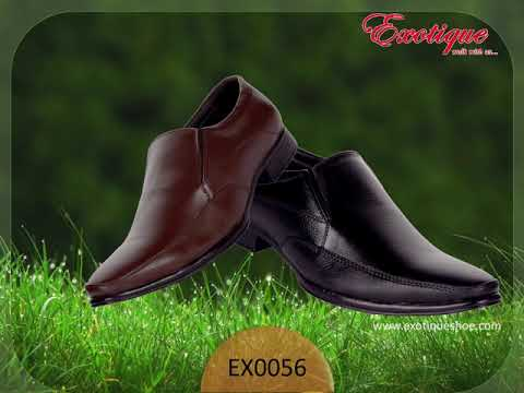 FOR A OFFICE: EXOTIQUE FORMAL LEATHER SHOE