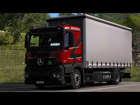 Euro Truck Simulator 2 - Mod Review - Mercedes Benz Antos