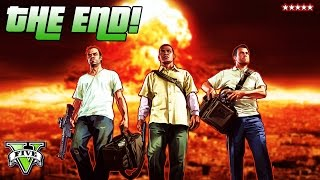 GTA 5 THE END!!! | The Final BIG Decision | Grand Theft Auto 5 Campaign Final Mission