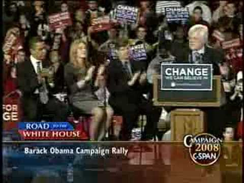 Kennedy Endorsements of Barack Obama