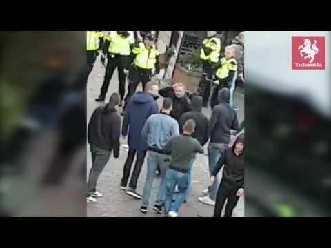 Rellen in Almelo voorafgaand aan Heracles - FC Utrecht