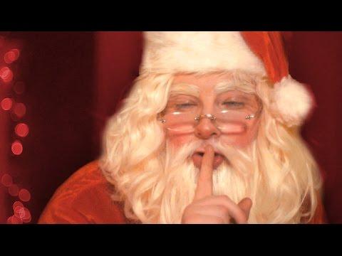 Böses Weihnachtsvideo: Weihnachtsmann will keine Zeugen