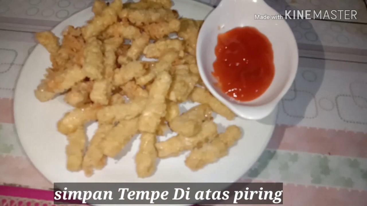 CARA MEMBUAT TEMPE CRISPY - YouTube