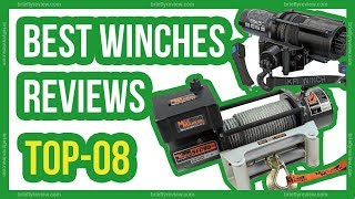 Top 08: Best winches reviews 2018 | #winches