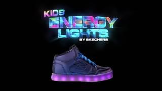 SKECHERS 童鞋燈鞋ENERGY LIGHTS STREET