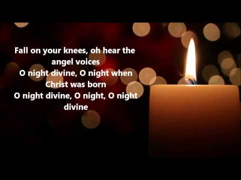 Mercy Me - O Holy Night (Lyrics)