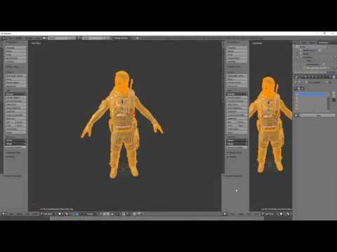 Ripping Dirty Bomb's Models, and Getting them in Blender