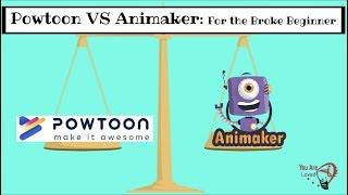 Animaker VS Powtoon For the Broke Beginner