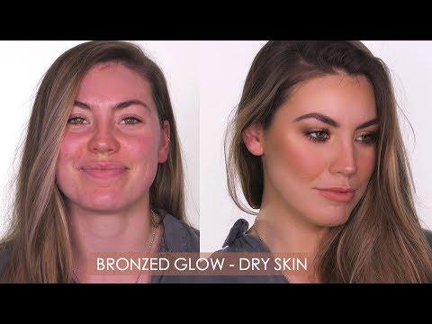 Glowy Bronze Makeup For Dry Skin   Shonagh Scott