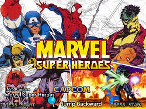 Marvel Super Heroes (Arcade) - Spider-Man