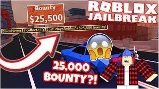 GETTING THE HIGHEST BOUNTY IN ROBLOX JAILBREAK!