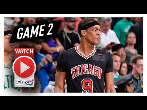 Rajon Rondo Full Game 2 Highlights vs Celtics 2017 Playoffs - 11 Pts, 14 Ast, 9 Reb