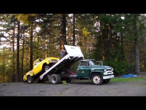 Classic Truck Rescue 1958 Chevy Apache Napco 4X4