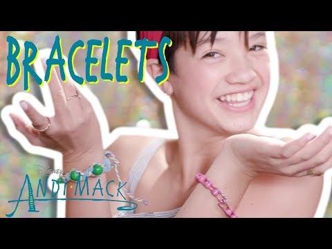 AnDIY Mack: Bracelets | Andi Mack | Disney Channel