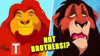 The Lion King: Mufasa And Scar Aren't Actually Brothers