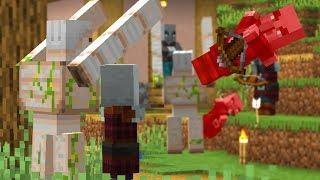 Tips to Beat a Village Raid in Survival Minecraft