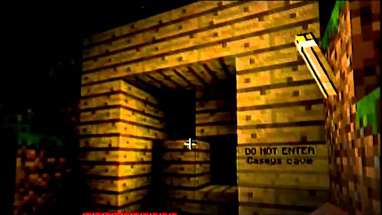 Caseys Cave Original Minecraft Creepy Pasta YouTube
