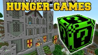 Minecraft: FALLEN KINGDOM HUNGER GAMES - Lucky Block Mod - Mod
