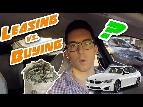 The Answer To Leasing vs. Buying! *Should You LEASE or FINAN