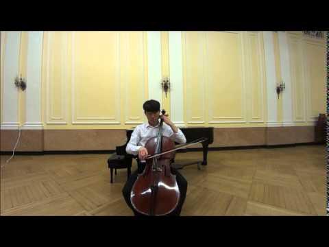 Kodaly Cello Sonata, Op. 8, III. Allegro molto vivace - Taeguk Mun 문태국