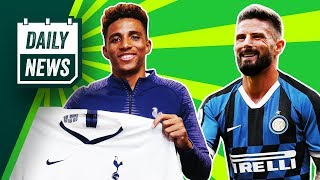 Spurs sign Fernandes + Conte continues Inter rebuild! ► Daily News