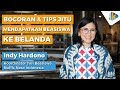 - Bocoran dan Tips Jitu  Mendapatkan Beasiswa ke Belanda - Indy Hardono