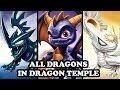 Skylanders Imaginators - All Dragons in Dragon Temple GAMEPLAY