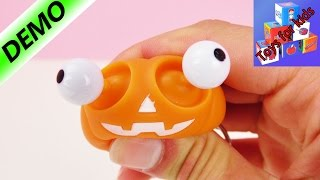 Pranks for on-the-go - Funny pumpkin head with bulging eyes