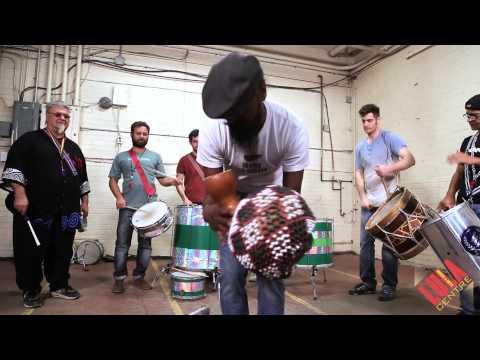 Bells, Shakers for GBE's Maracatu Rhythm