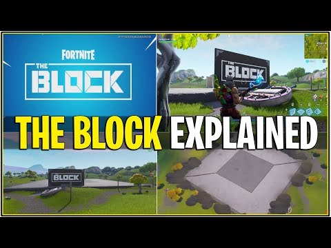 *NEW* THE BLOCK POI EXPLAINED/OFFICIAL TRAILER! *Risky Reels Gone* (Fortnite)